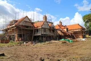 Farmhouse-under-construction