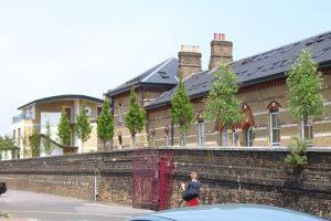 Station Gate, Clapham. London
